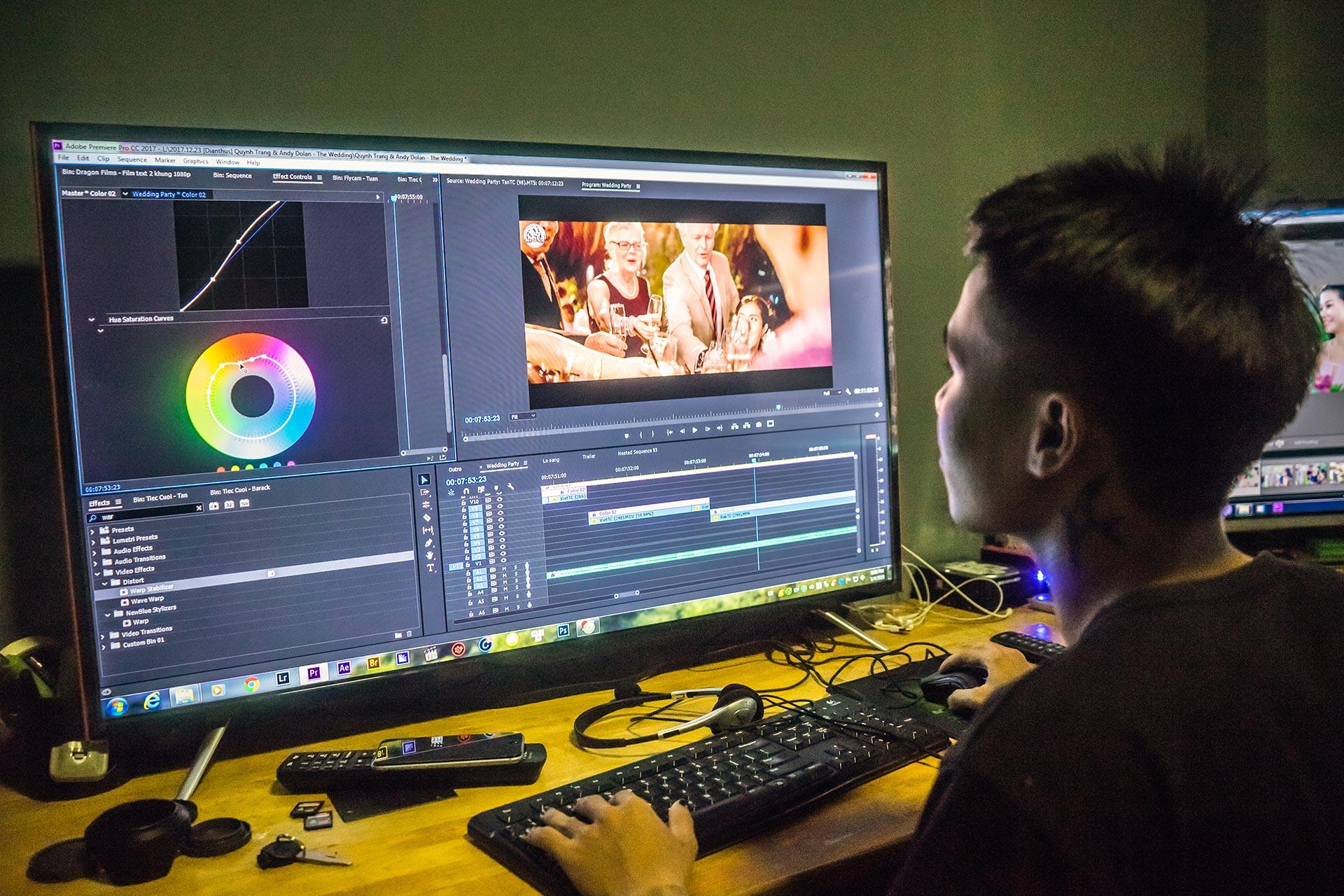 Dựng video chuyên nghiệp