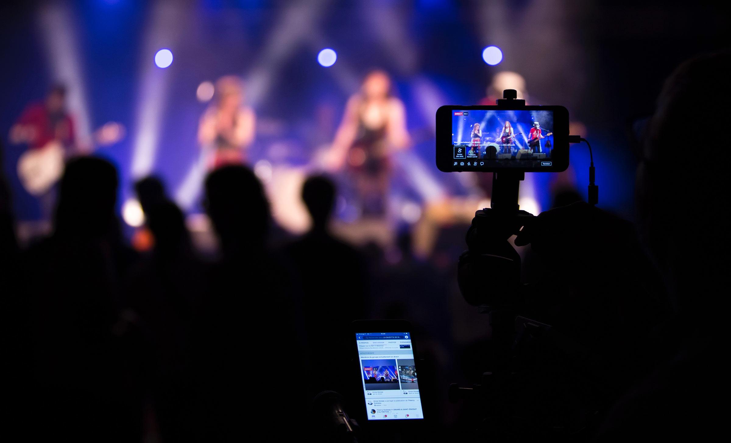 Live stream đang dần trở thành hình thức phổ biến hiện nay