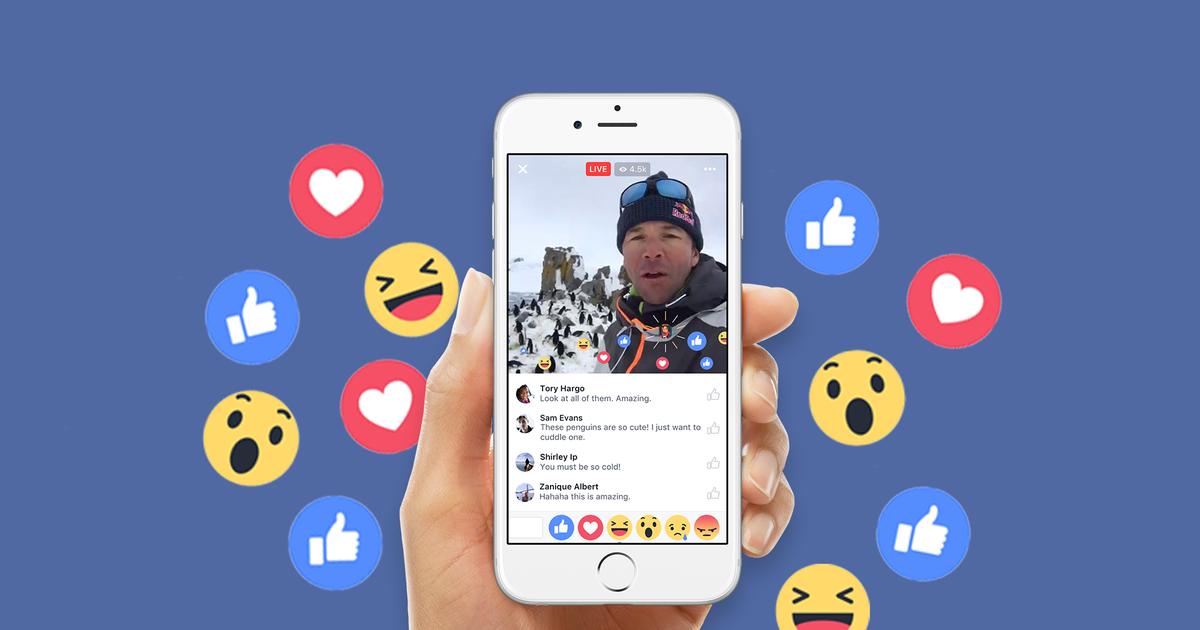 Hình thức live stream facebook đang rất phổ biến hiện nay
