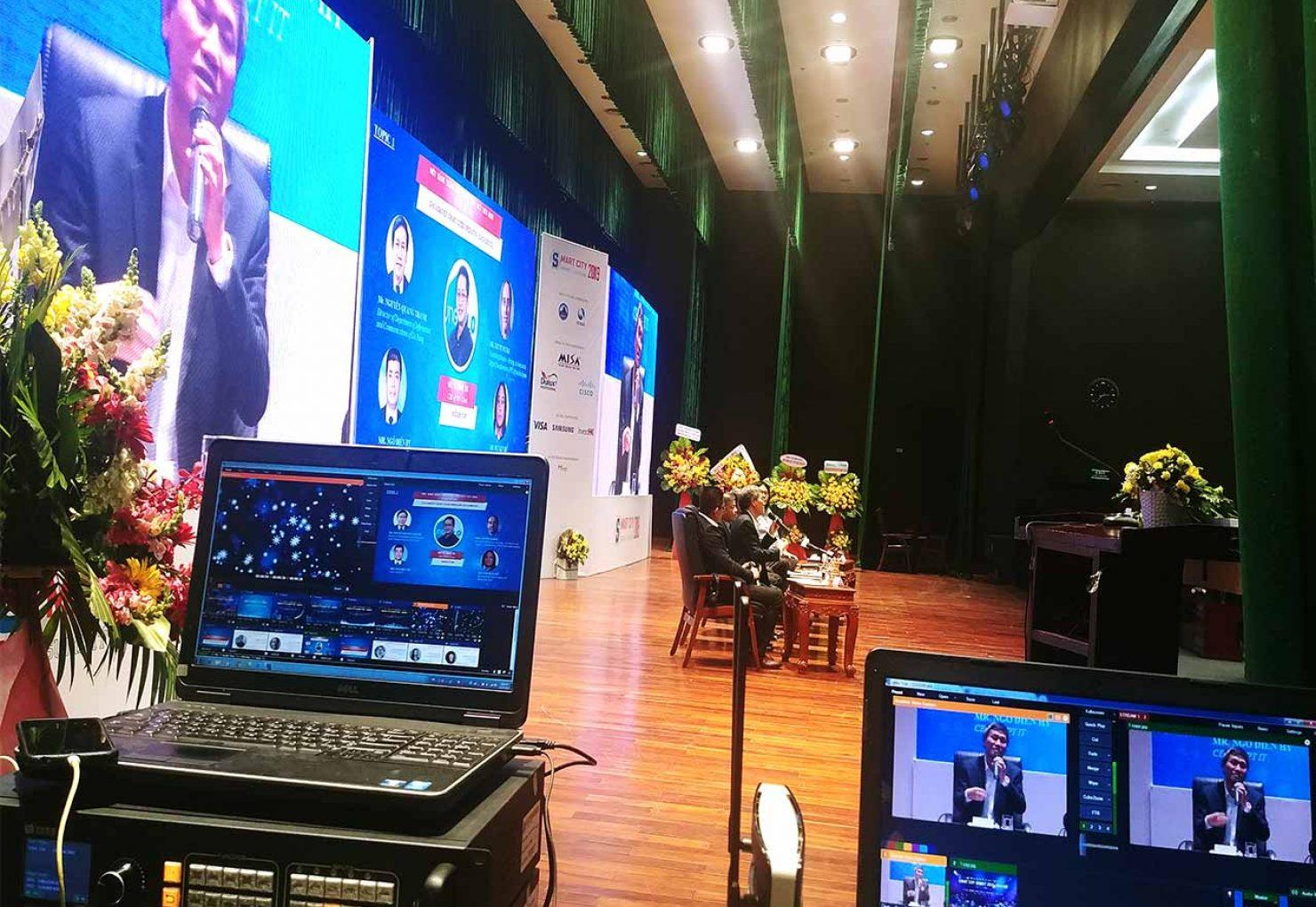 Dịch vụ quay live stream sự kiện trọn gói