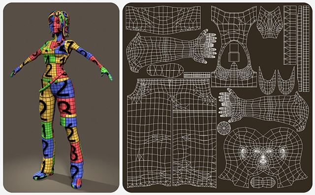 Giai đoạn texturing trong animation